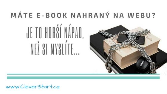e-book na webu