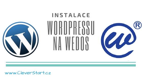 Automatická instalace WordPressu na Wedos